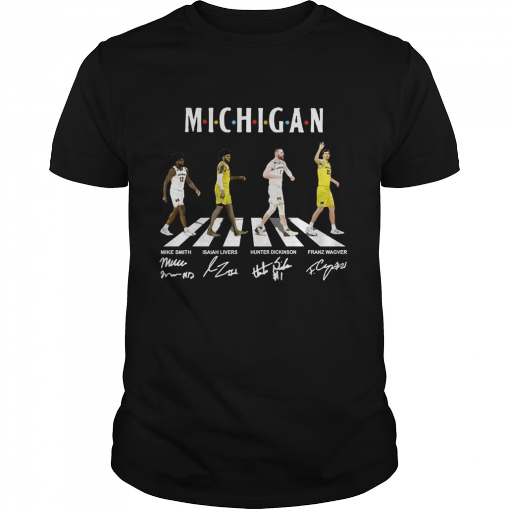 Michigan Wolverines Abbey Road Signatures shirt Classic Men's T-shirt