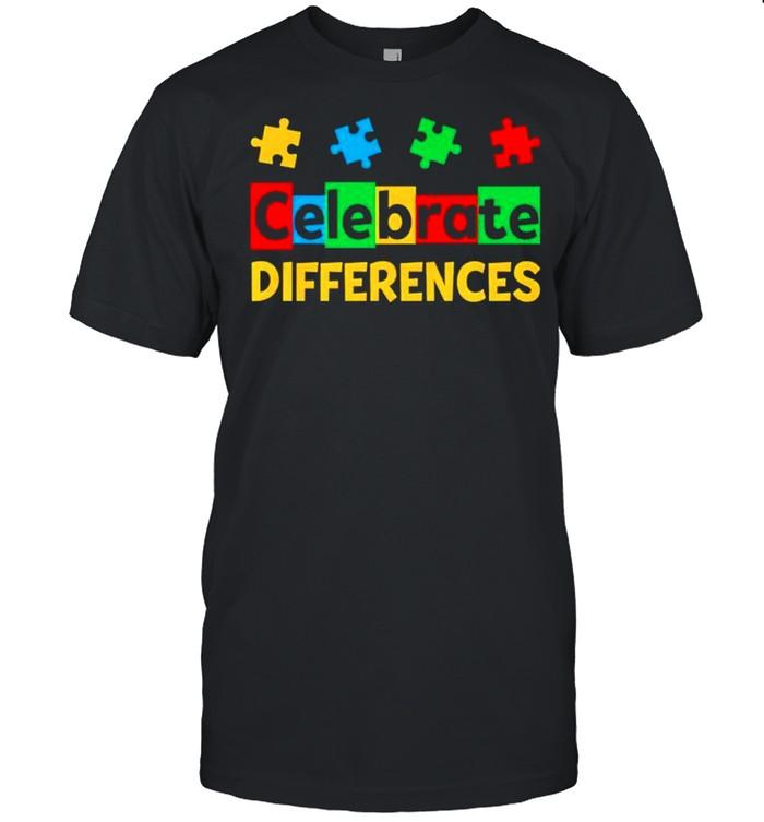 Celebrate Differences Autism Awareness shirt Classic Men's T-shirt