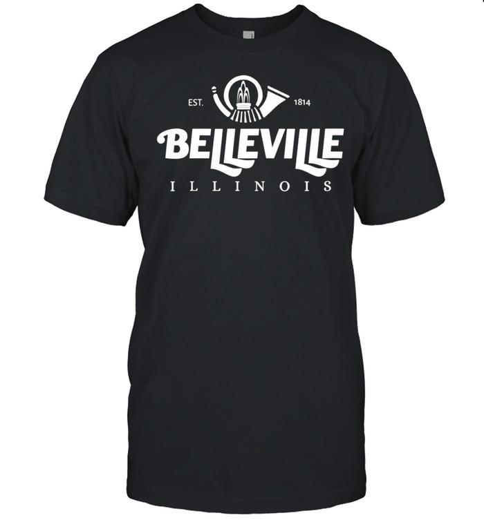 IL Illinois Belleville IL Illinois  Classic Men's T-shirt