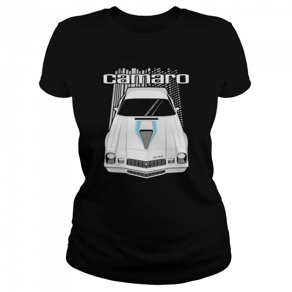 camaro 2nd generation 1977 to 1981  classic womens t shirt