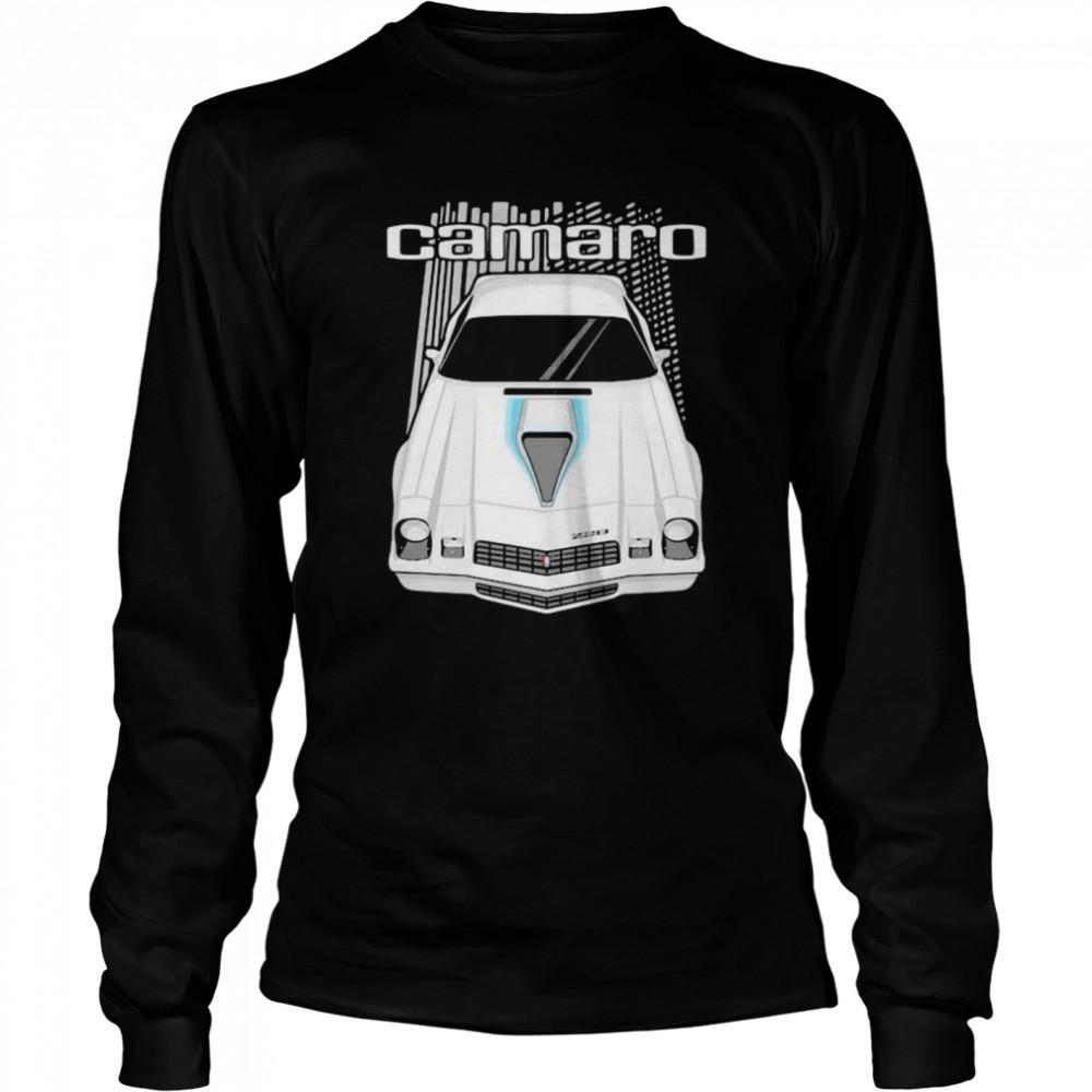 camaro 2nd generation 1977 to 1981  long sleeved t shirt