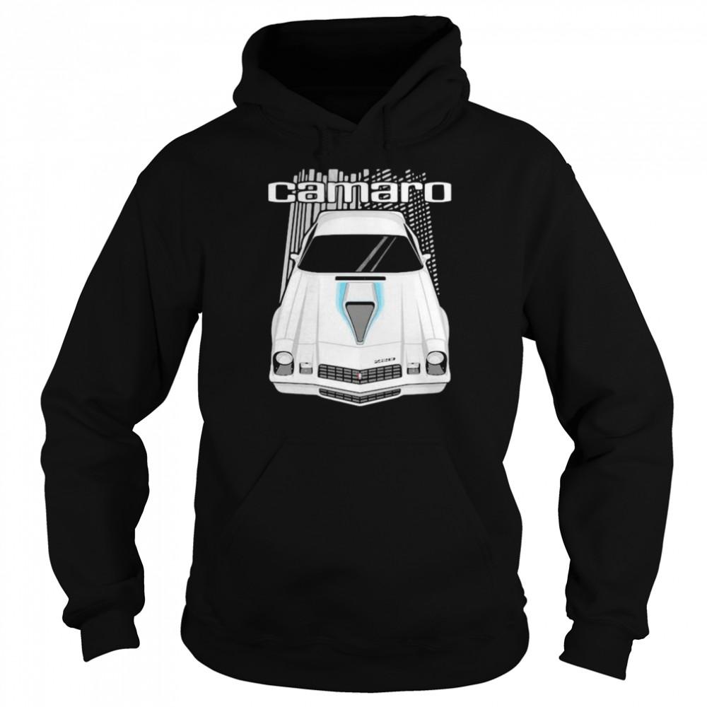 camaro 2nd generation 1977 to 1981  unisex hoodie