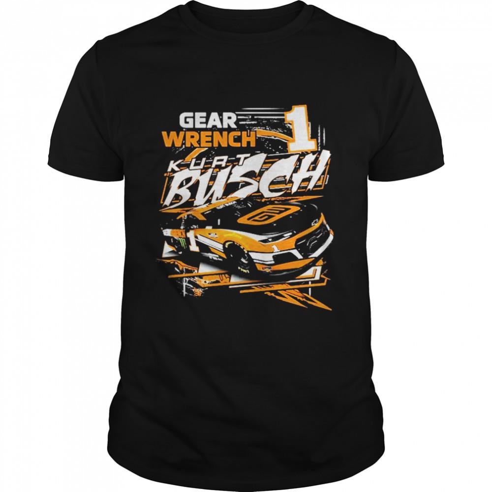 Kurt Busch Checkered Flag Slingshot Graphic shirt Classic Men's T-shirt