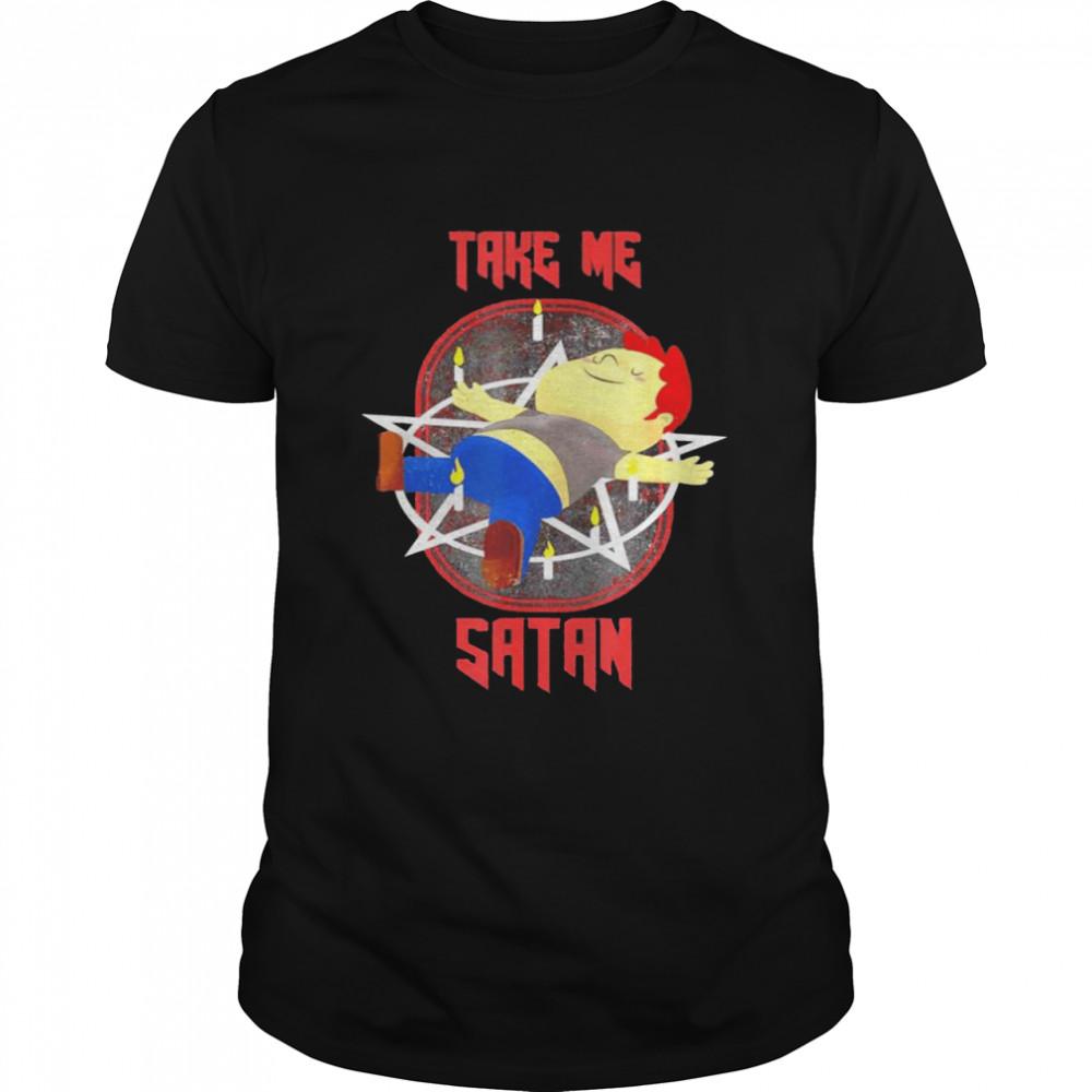 Take me Satan shirt Classic Men's T-shirt