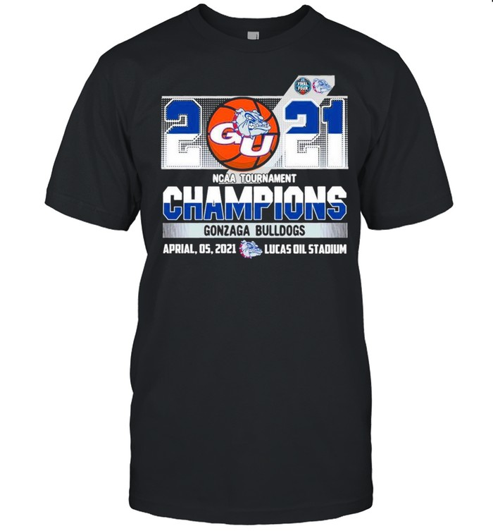 2021 NCAA Tournament Champions Gonzaga Bulldogs Team Basketball shirt Classic Men's T-shirt