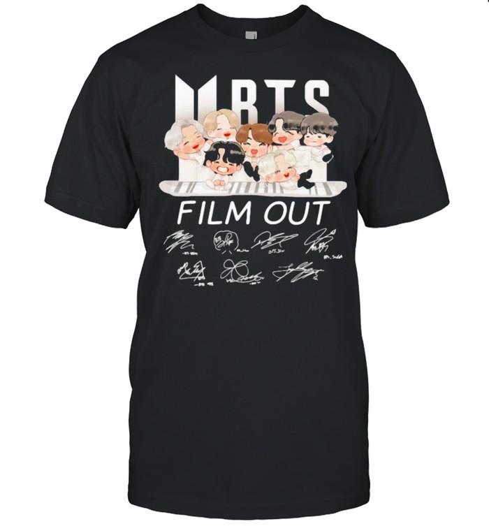 BTS Film Out Signature  Classic Men's T-shirt