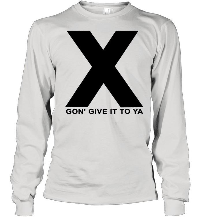dmx x gon give it to ya shirt long sleeved t shirt