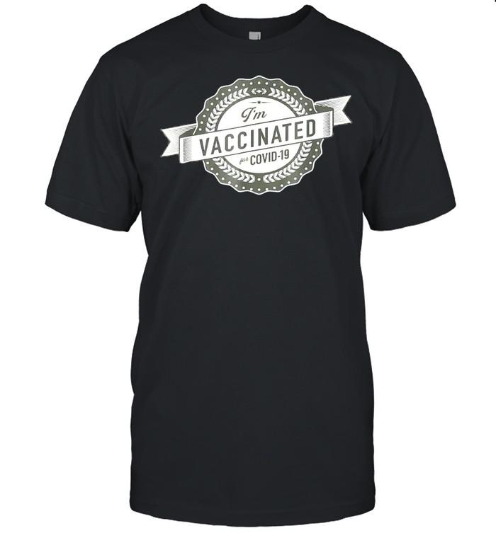 Im vaccinated shirt Classic Men's T-shirt