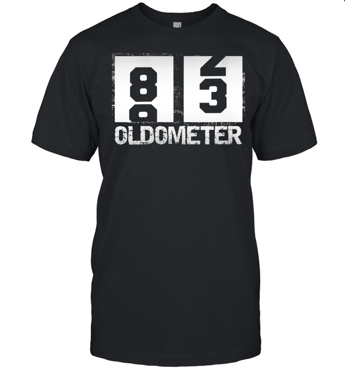 Oldometer 8283 83rd Birthday  Classic Men's T-shirt