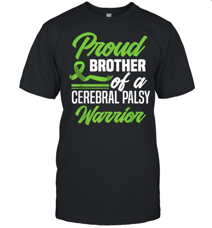 Proud Brother Of A Cerebral Palsy Warrior Cerebral Palsy shirt Classic Men's T-shirt