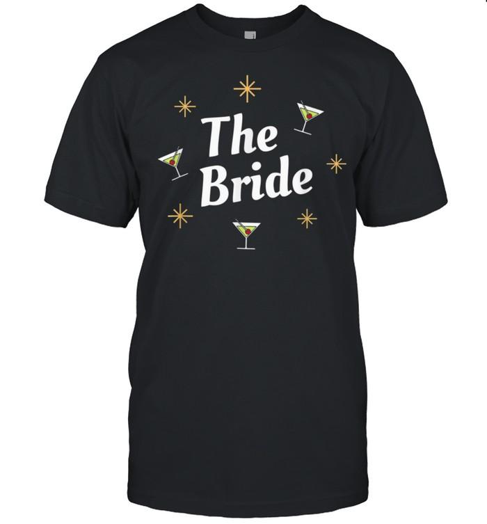 Retro The Bride I Do Crew Bridal Matching Bachelorette Party  Classic Men's T-shirt