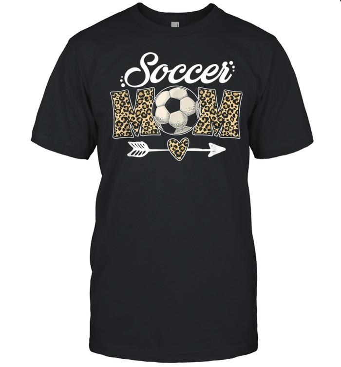 Soccer Mom Leopard Soccer Mom Mother's Day 2021  Classic Men's T-shirt