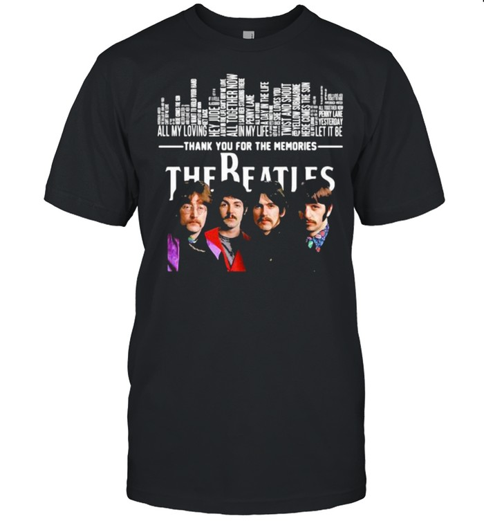 The Beatles Thank You For The Memories  Classic Men's T-shirt