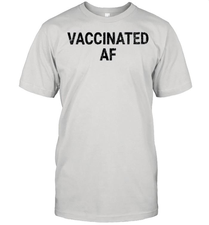 Vaccinated af shirt Classic Men's T-shirt