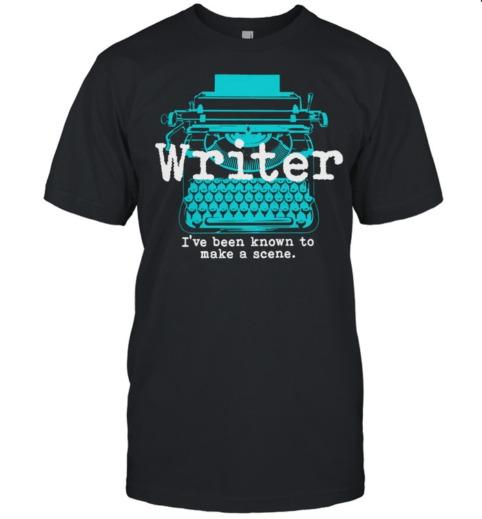 Writer Ive been known to make a scene shirt Classic Men's T-shirt