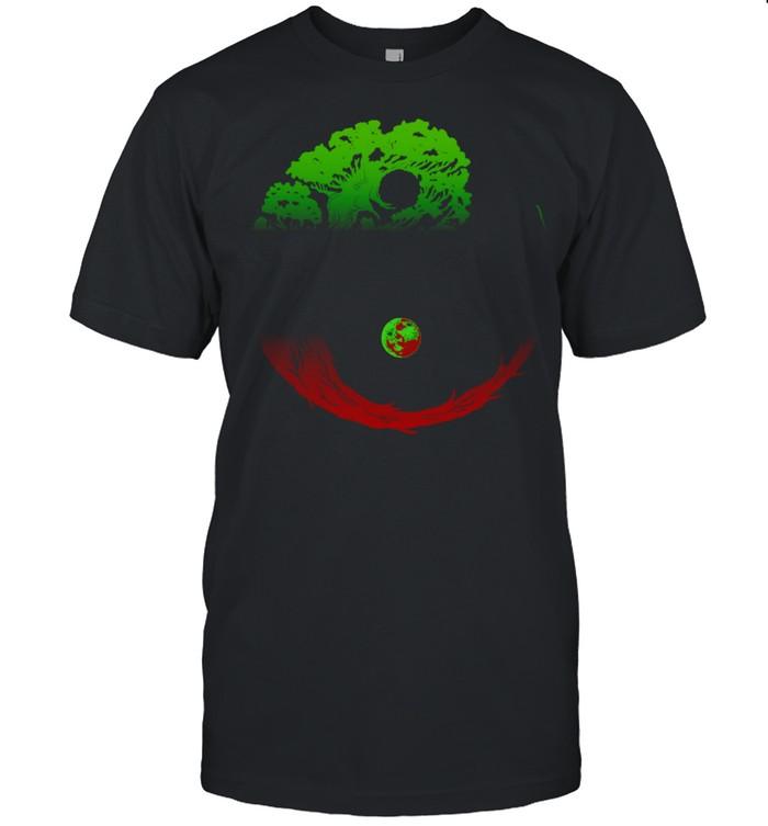 Yin Yang Bonsai Tree Japanese Gardening Zen Buddhist  Classic Men's T-shirt