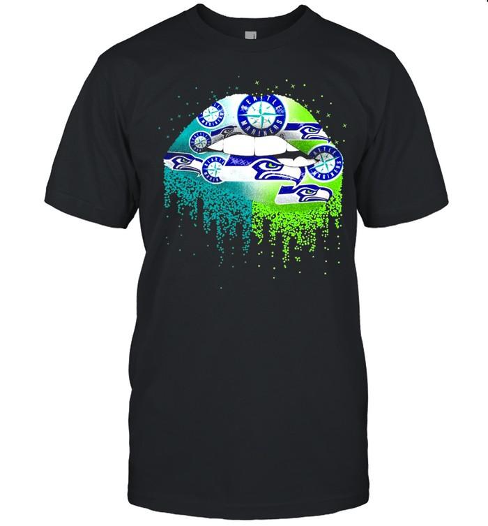 Lip seattle mariners logo shirt Classic Men's T-shirt