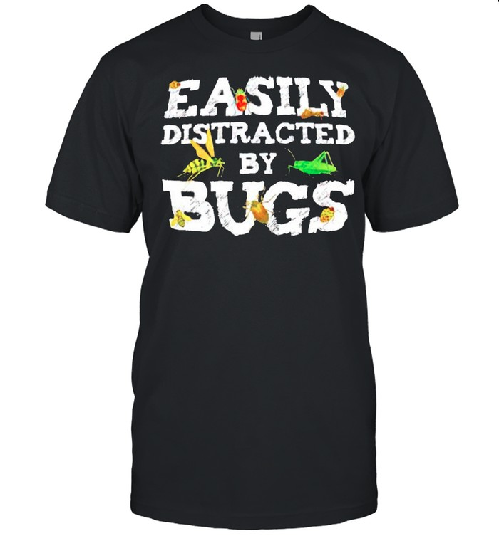 Easily distracted by bugs shirt Classic Men's T-shirt