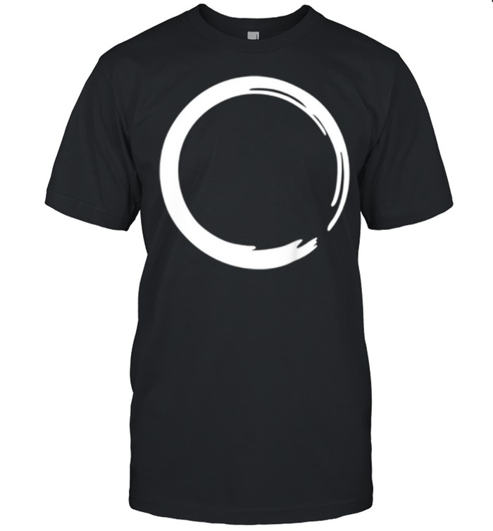 Enso, Zen, circle, symbol, Buddhism, Buddha, meditation Yoga shirt Classic Men's T-shirt