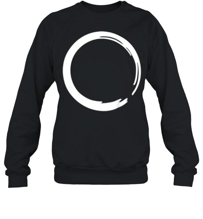 enso zen circle symbol buddhism buddha meditation yoga shirt unisex sweatshirt