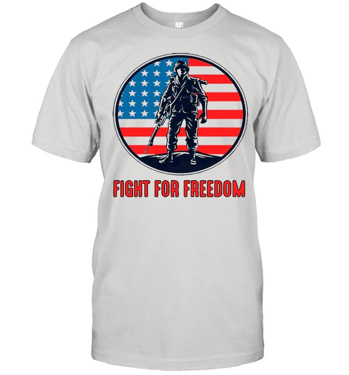 Fight For Freedom American Flag shirt Classic Men's T-shirt