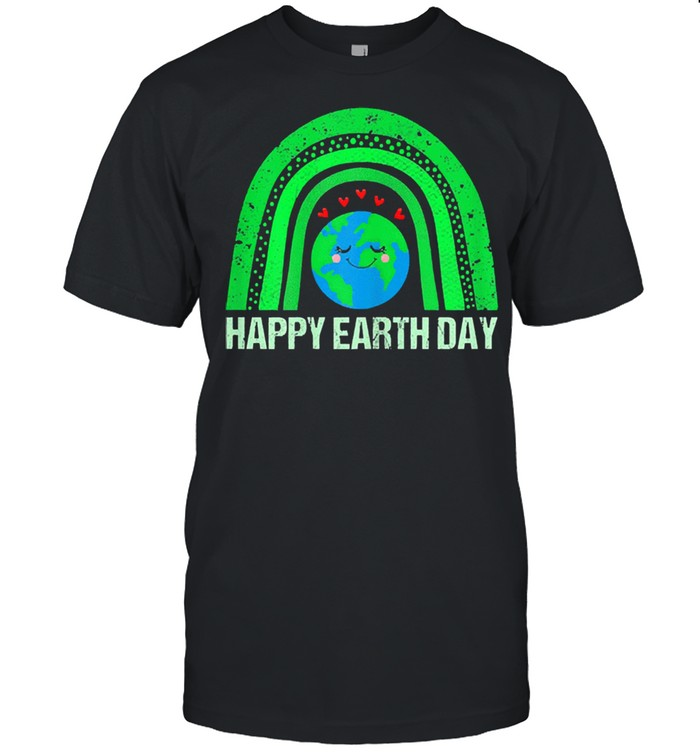 Happy earth day 2021 earth lover shirt Classic Men's T-shirt