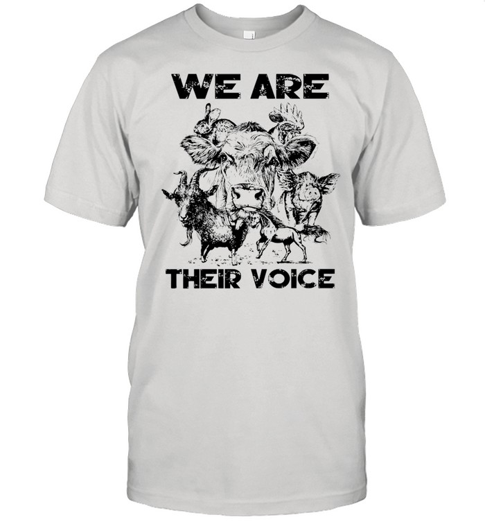 We Are Their Voice Animal shirt Classic Men's T-shirt