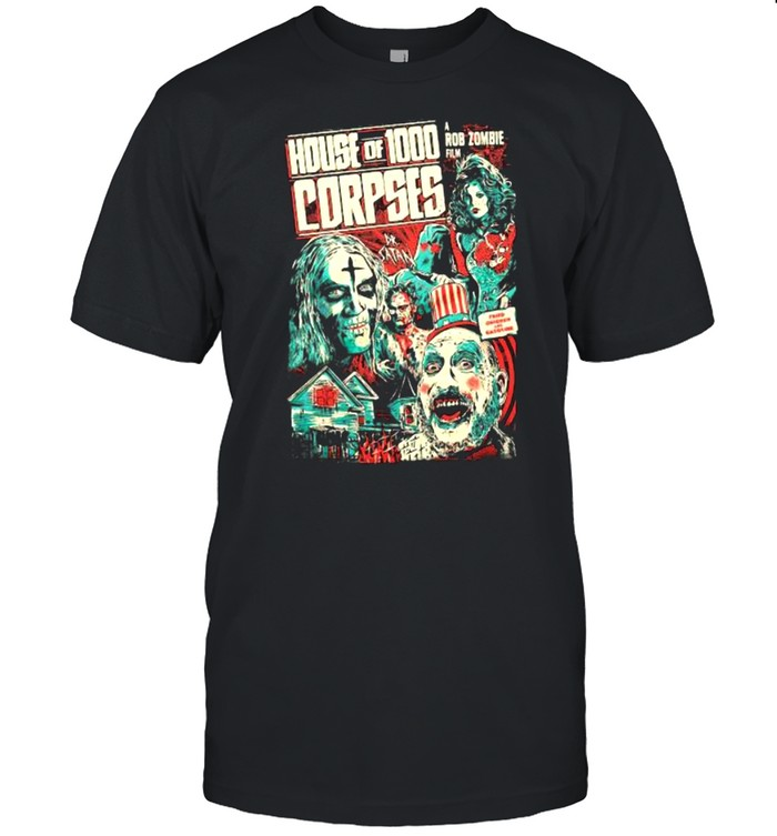 House Of 1000 Corpses Fried A Rob Zombie Film  Classic Men's T-shirt