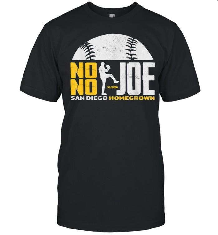 No No Joe San Diego Homegrown Baseball Pitcher No Hitter  Classic Men's T-shirt