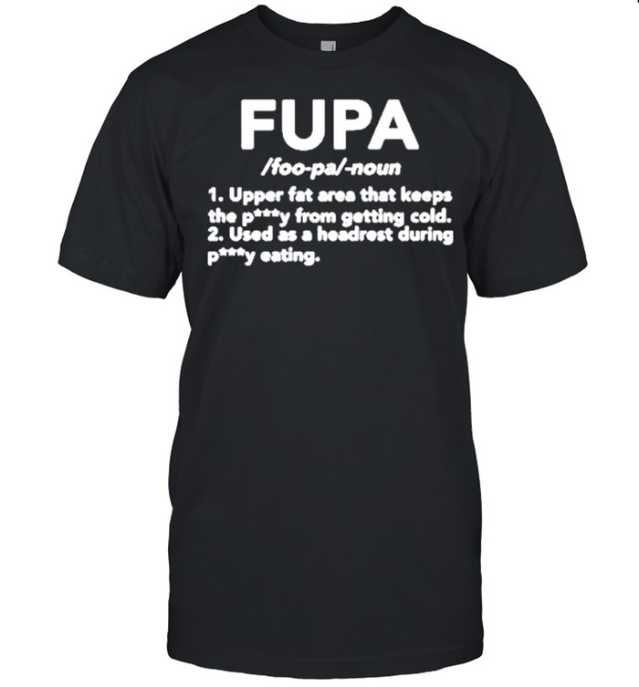 Fupa upper fat area that keeps petty from getting cold shirt Classic Men's T-shirt