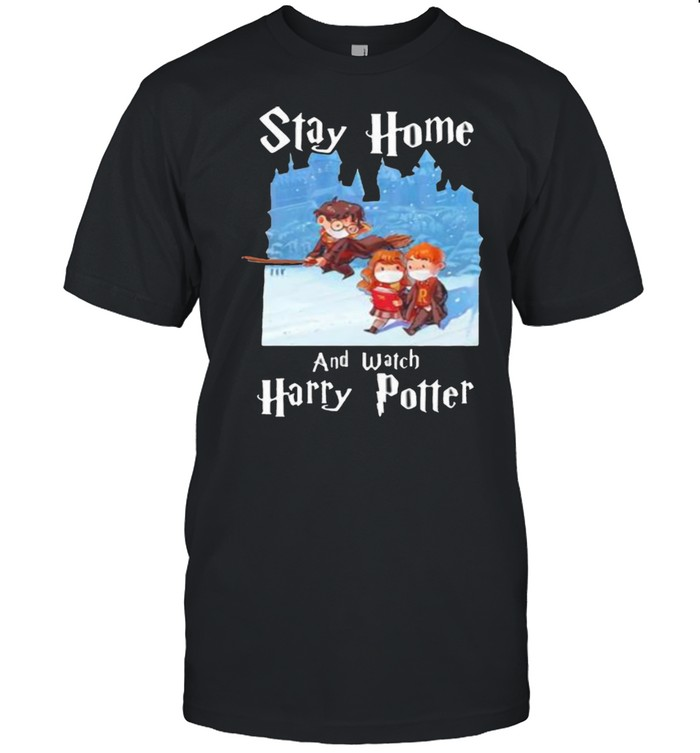 Stay Home And Watch Harry Potter Covid  Classic Men's T-shirt
