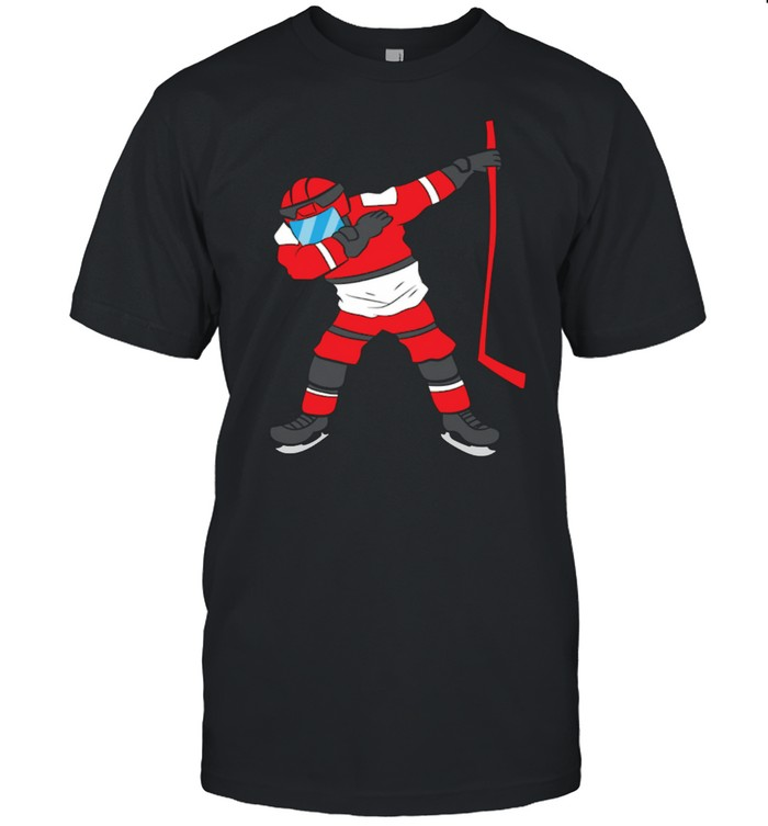 Dabbing Hockey Player Hockey Son Hockey Boy Ice Hockey shirt Classic Men's T-shirt