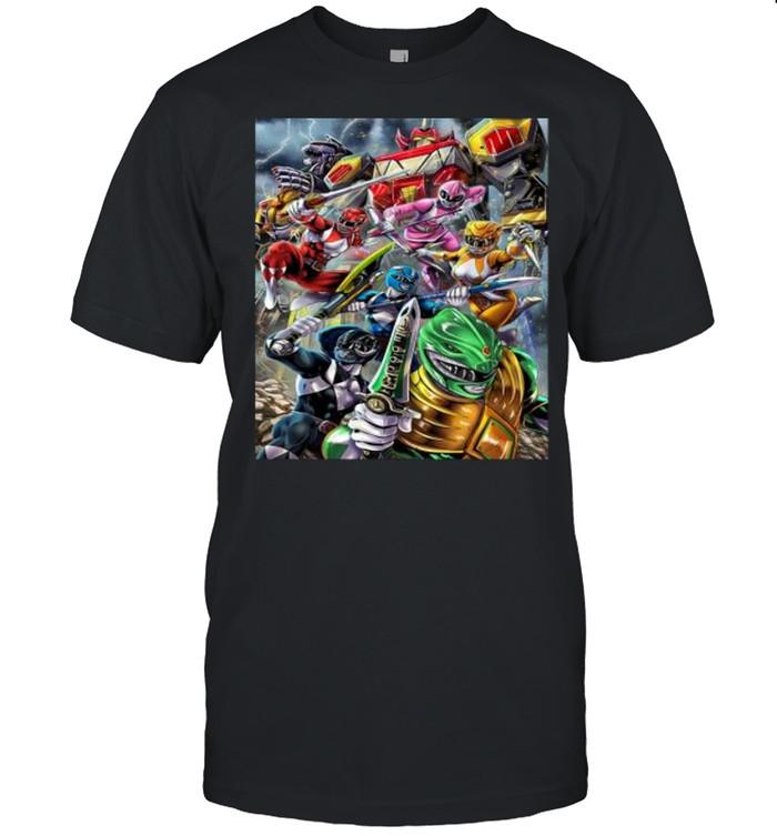 Mighty Morphin Power Rangers  Classic Men's T-shirt