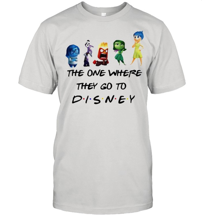 The One Where They Go To Disney Inside Out Movie  Classic Men's T-shirt