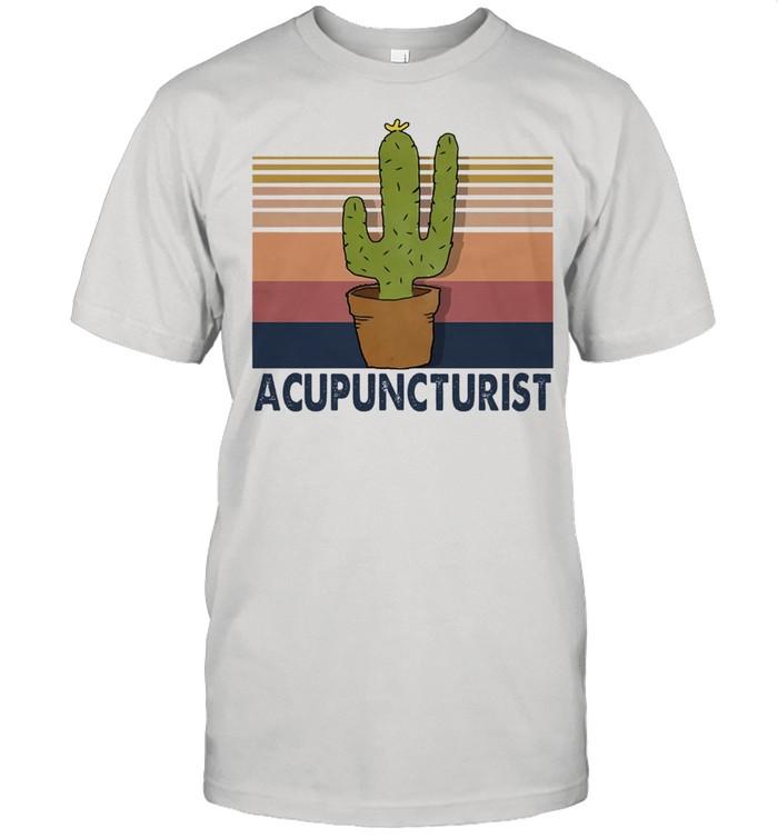 Acupuncturist vintage shirt Classic Men's T-shirt