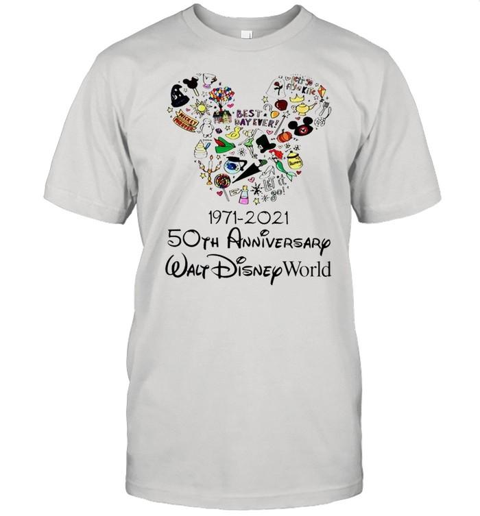 1971 2021 50th Anniversary MIckey mouse shirt Classic Men's T-shirt