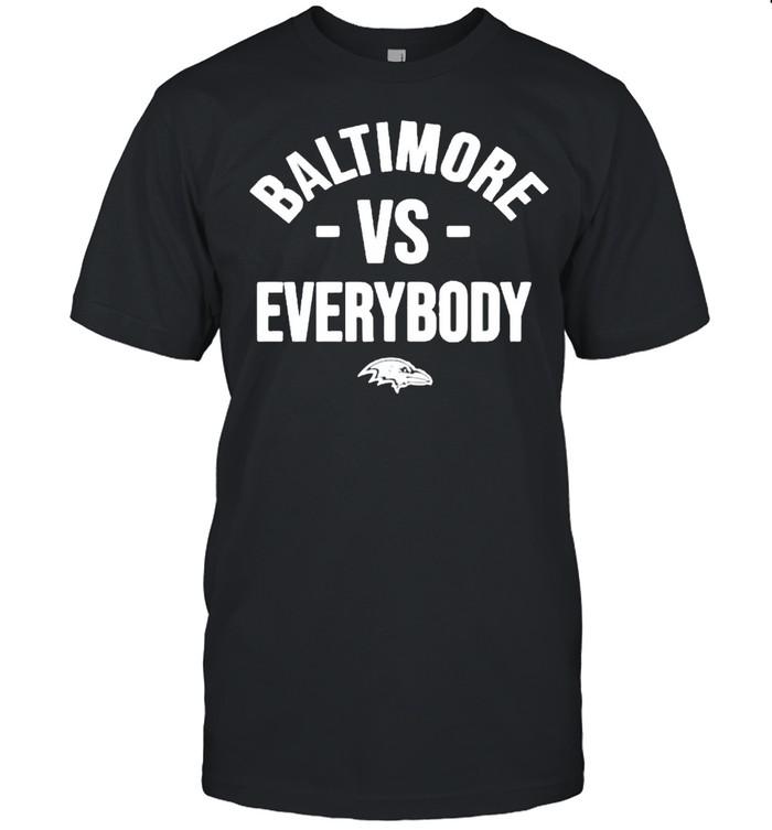 Baltimore vs everybody shirt Classic Men's T-shirt