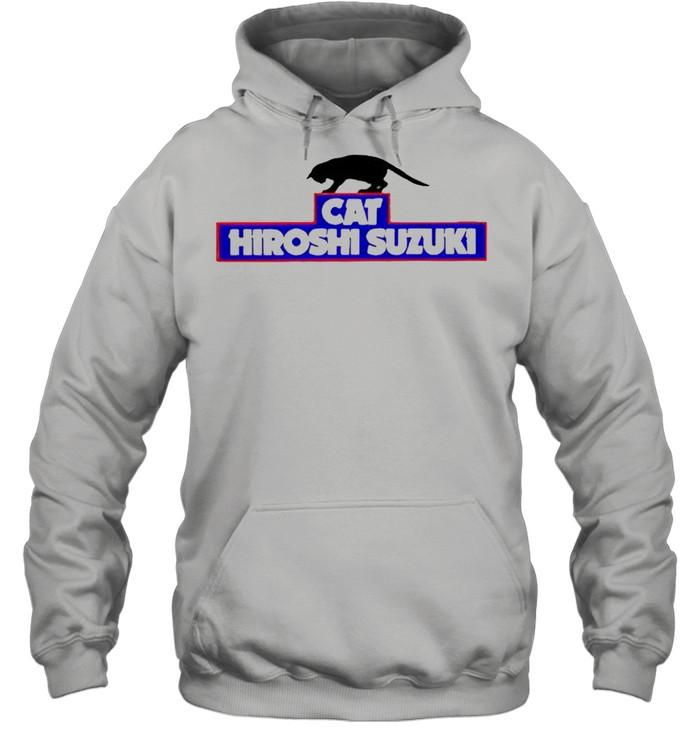 cat hiroshi suzuki shirt unisex hoodie