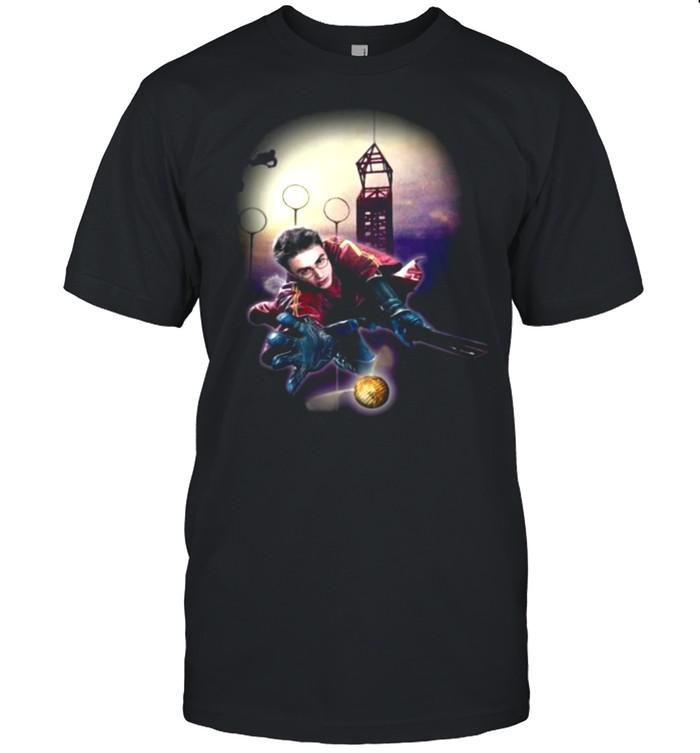Harry Potter Catch The Ball  Classic Men's T-shirt