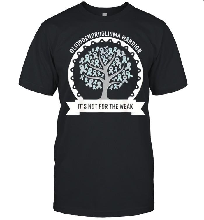 Oligodendroglioma awareness its not for the weak shirt Classic Men's T-shirt