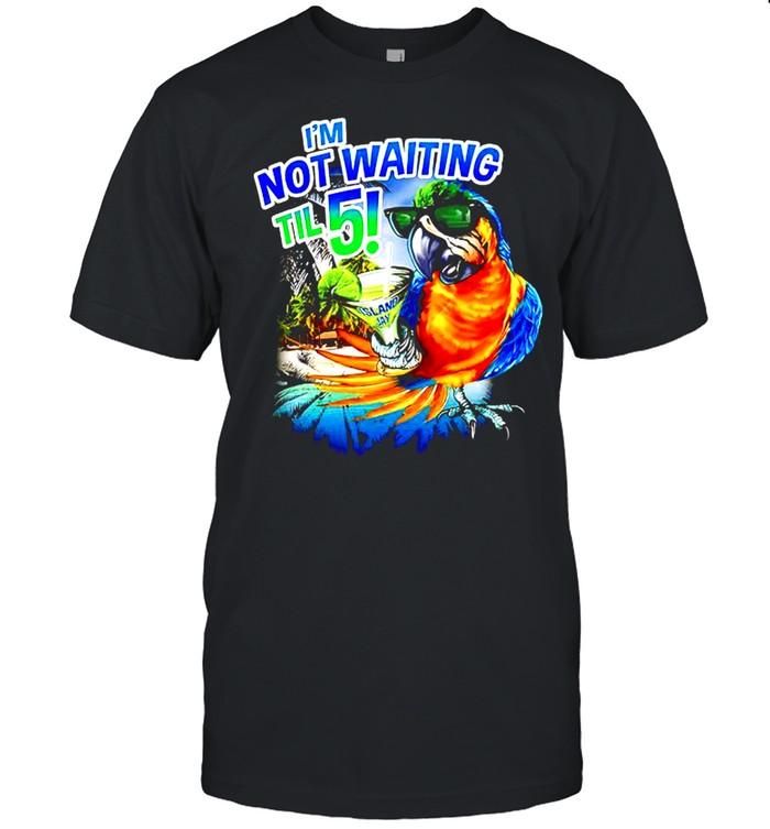 Im not waiting til 5 shirt Classic Men's T-shirt