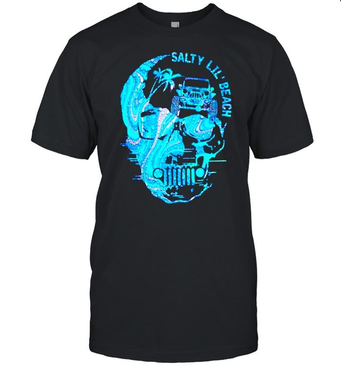 Salty lil beach shirt Classic Men's T-shirt