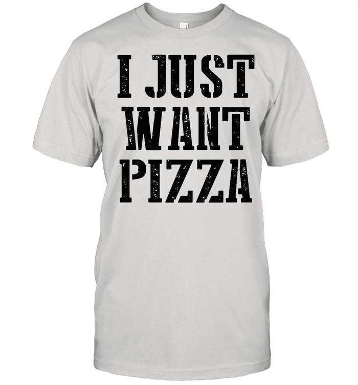 I just want pizza shirt Classic Men's T-shirt
