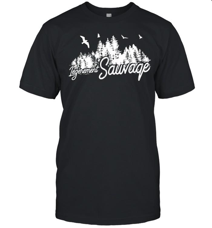 Legerement sauvage shirt Classic Men's T-shirt