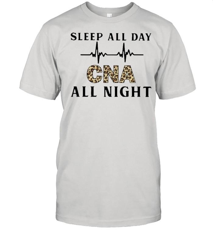 Sleep all day cna all night shirt Classic Men's T-shirt