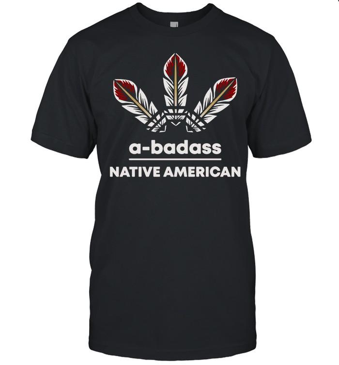 A-badass Native American T-shirt Classic Men's T-shirt