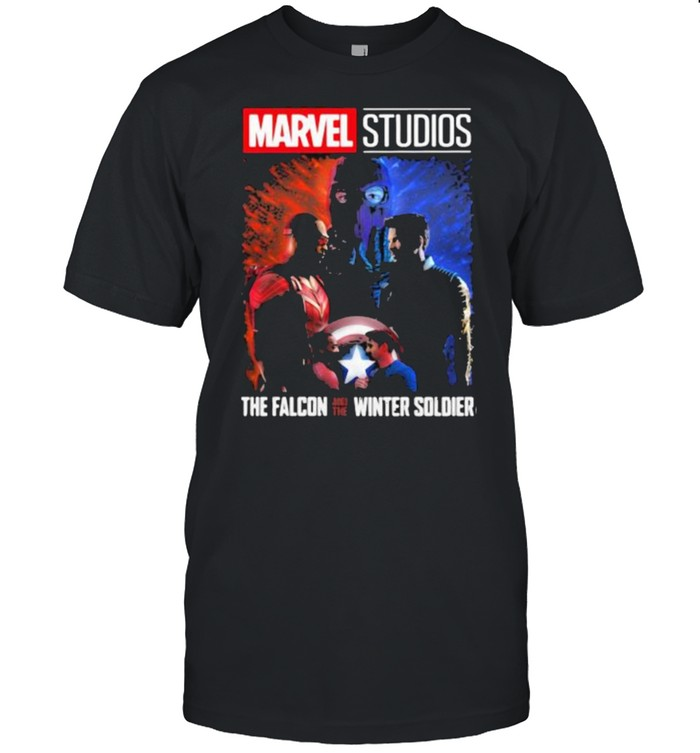 Marvel studios Falcon and Winter Soldier  Classic Men's T-shirt