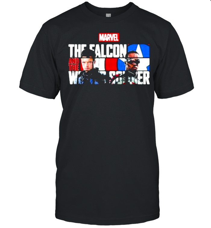 Marvel the falcon and the winter soldier captain america shirt Classic Men's T-shirt