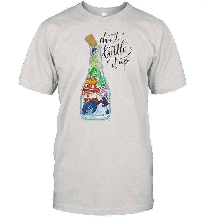 Don't bottle it up shirt Classic Men's T-shirt