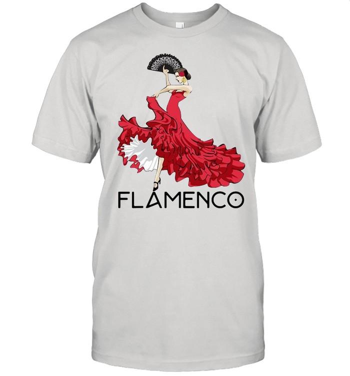 Flamenco Dancer T-shirt Classic Men's T-shirt